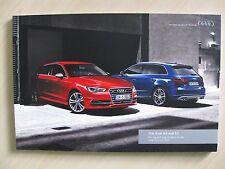 Audi S3 & A3 UK Sales Brochure (2015/16 Ed 8.0)