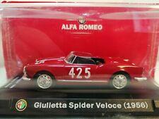 alfa romeo sport collection ( giulietta spider veloce 1956 )