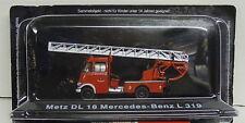 Feuerwehr Metz DL 18 Mercedes-Benz L 319 , 1:72 , Atlas ,Restposten,  Neuware