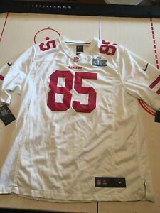 New San Francisco 49ers George Kittle Jersey men's XL with Super Bowl 54 patch