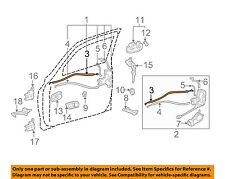 TOYOTA OEM 00-06 Tundra Front Door-Lock Rod 697100C010