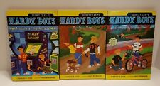 Hardy Boys Secret Files Lot #1, 3, 6 Bicycle Thief Mystery Map Trouble at Arcade