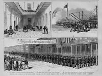 NEW ORLEANS LOUISIANA WITHDRAWAL OF THE FEDERAL TROOPS FROM THE STATE HOUSE