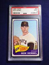 1965 Topps Ron Herbel #84 PSA 9 San Francisco Giants