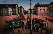 Ansichtskarten aus Baden-Württemberg für Architektur/Bauwerk und Straßenbahn