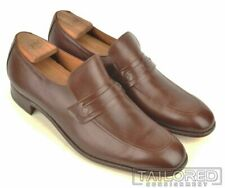 CHURCH'S Solid Brown Leather Mens Loafer Dress Shoes - UK 12 / US 13 C
