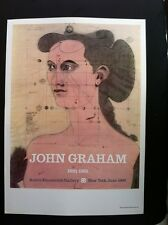 John Graham - Andre Emmerich Gallery NYC 1966 Poster Authorised Reproduction