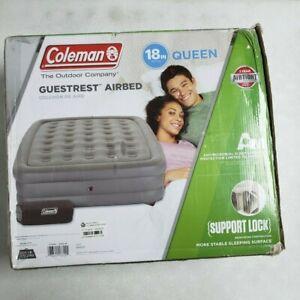 Coleman GuestRest Double High Air Mattress Queen - Gray