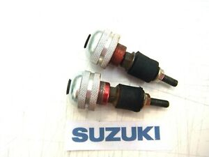 SUZUKI GSF600 GSF 600 MK2 BANDIT HANDLE BAR HANDLEBAR END WEIGHTS 2001 - 2003