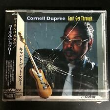 Cornell Dupree – Can't Get Through [Japanese edition, Import] w.obi NEW/Sealed