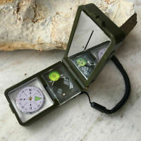 Multifunktions Outdoor Survival Militär Camping Wandern Tool Kompass 10 in` I1I7