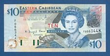 "EAST CARIBBEAN STATES -- "" ST. KITTS "" -- 10 $ ( 2003 ) -- UNC -- PICK 43k ."