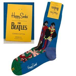 Happy Socks The Beatles Pepperland Socks Yellow Submarine Blue Socks