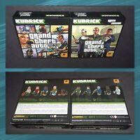 Grand Theft Auto V Kubrick + GTA 5 Heist Edition (BOTH KUBRICKS FACTORY SEALED)