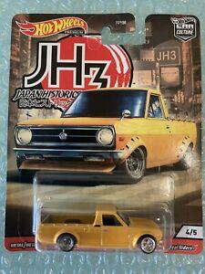 Hot Wheels Car - Car Culture Japan Historic Datsun Sunny Truck 1200 Ute B120
