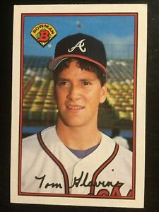 (100) 1989 Bowman Tom Glavine #267 Atlanta Braves NR-MT+ Recent Set Breaks