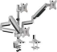 AVLT Aluminum Triple Monitor Gas Spring Desk Mount Fully Adjustable Arms