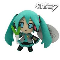 "Lovely Hatsune Miku 15cm/6"" Soft Stuffed Plush Doll Toy"