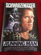 Running Man Kinoplakat Poster A1 Arnold Schwarzenegger, R. Casaro
