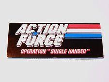 "VINTAGE GI JOE 1988 LEAFLET BROCHURE CATALOG ""OPERATION SINGLE HANDED"" - HASBRO"