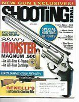 Shooting Times Gun Reviews April 2003 New Gun Exclusives, S&W, CZ, Muzzleloader