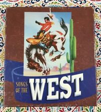Songs of the West 4 CD Box Set Rhino Records Cowboy Classics Movie & TV Themes