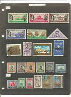TOP NEEWS : belles séries de timbres anciens de JORDANIE .très belle cote .2 sca