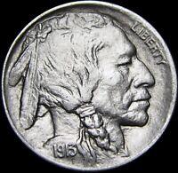 1913-D Type 1 Buffalo Nickel  ---- GEM BU+  ---- #T195