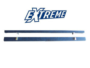 Pair of 2.4m Heavy Duty Blue Carpeted Bunks Boat Trailer