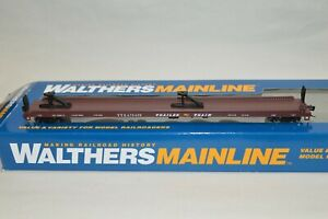 HO scale Walthers Trailer Train TTX 75' piggyback flat car