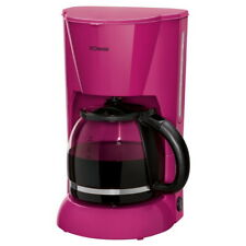 Bomann Kaffeemaschine Kaffeeautomat brombeer Filterkaffeemaschine Glaskanne