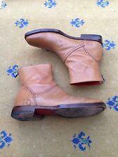 Oliver Sweeney Mens Tan Brown Leather Chelsea Dealer Boots UK 7.5 US 8.5 EU 41.5