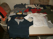Boys 16 piece long sleeve top lot size 12 months