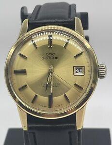 Glycine Vintage Men's Watch — Compressor Swiss Automatic ETA 2472 Movement