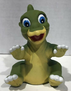 The Land Before Time Ducky Dinosaur Hand Puppets Vintage 1988 Pizza Hut Toy