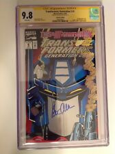 CGC SS 9.8 Transformers: Generation 2 #1 Foil Variant signed by Peter Cullen