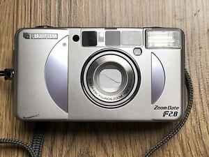 Fujifilm Silvi / Zoom Date f2.8 Compact 35mm Film Camera (24-50mm EBC Lens) (#7)