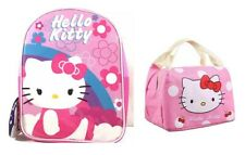 Hello Kitty Toddler Backpack and Lunch Bag Set
