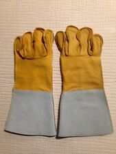 Heavy Duty Grain Cowhide Full Leather Work Glove, 13 inches long FREE SHIPPING