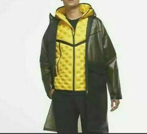 Nike Shield Tech Pack Jacket Down Fill 2 Piece Coat Men's Size XL CU3770-010