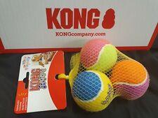 KONG Dog Happy Birthday Tennis Balls AirDog Squeakair Pet Dogs Gift Toys