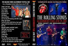 THE ROLLING STONES. GLASTONBURY PARK FESTIVAL 2013. DVD.