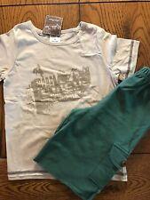 Nwt Matilda Jane Boys Mighty Acorn Rodeo Circus Shirt Ln Shorts 2 Piece Outfit 6
