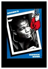 1990 Brown's Boxing #6 Riddick Bowe