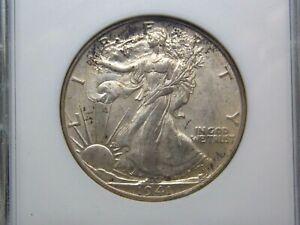 "1941 ""D"" Walking Liberty Half Dollar 50c ANACS MS62 ECC&C, Inc."