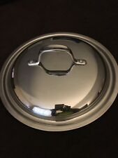 "CALPHALON STAINLESS STEEL 10 1/4"" OUTSIDE RIM. STORED NEVER USED"