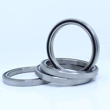 (4Pcs) 6708-2RS (40x50x6 mm) Bearing Rubber Shiedled Black Ball Bearings 6708RS