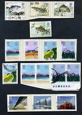 Lot of 34 stamps, Uk, 1983 Scott 1011-1039, Seven Complete Sets