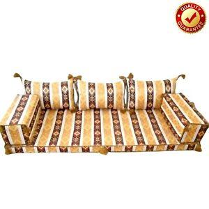 Arabic Floor Seat Sofa Turkish Majilis Oriental Sofa Moroccan Kilim Only Covers