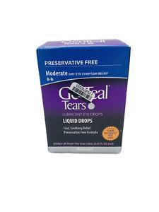 Genteal Tears Liquid Drops Alcon - 36 ct 0.03oz Each EXP 05/21